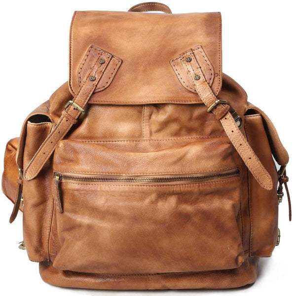 Moto Leather Backpack