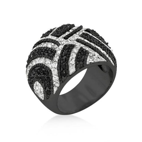 Maze Cocktail Ring