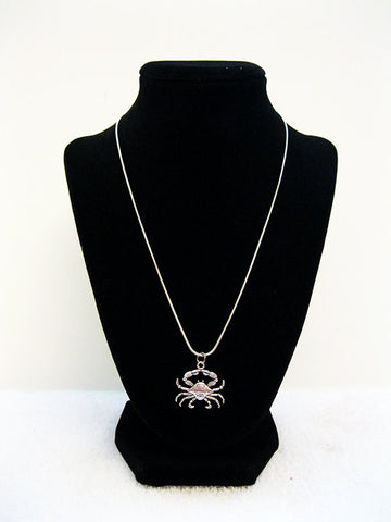 Crabby Single Charm Necklace