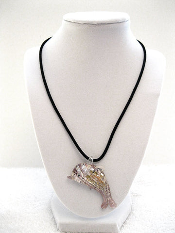 Gorgeous Acrylic Dolphin Necklace