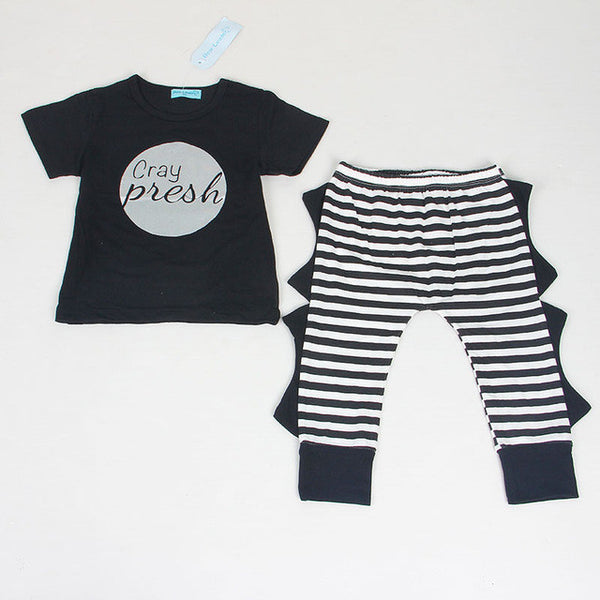 Bear Leader 2PC Unisex Baby Outfits
