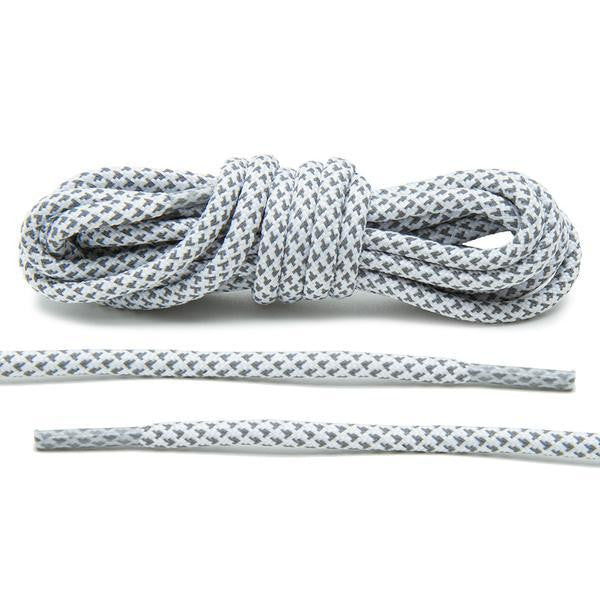 Laced Rope Laces by GA® 3M White