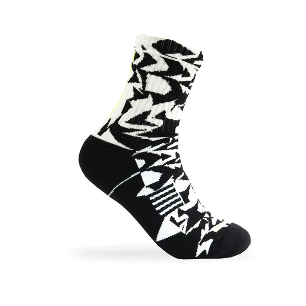 Gallery 'ACR' Socks LTD. EDITION White/Black - Gallery Store NZ | Tauranga