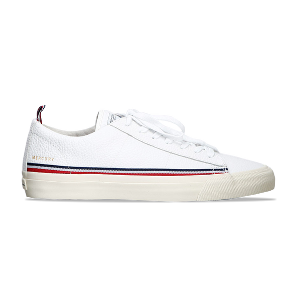 Champion Mercury Low Leather White - Gallery Store NZ | Tauranga
