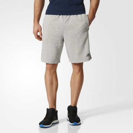 adidas Essential 3-stripe Short Grey - Gallery Store NZ | Tauranga