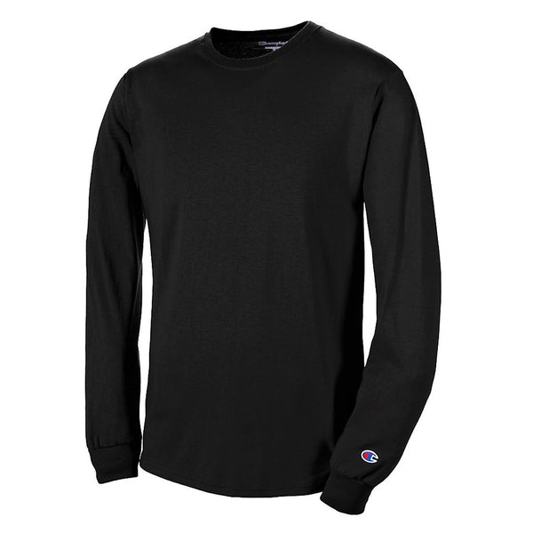 Champion Long Sleeve Tee Black - Gallery Store NZ | Tauranga