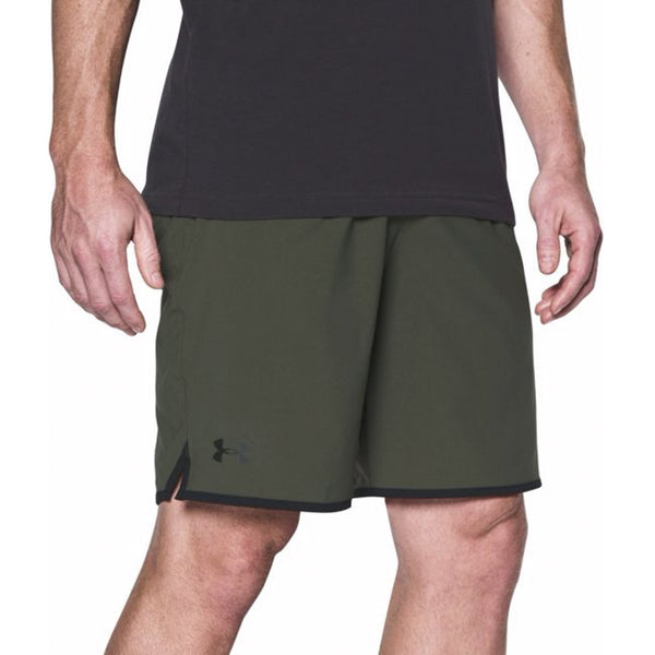 "Under Armour Qualifier 5"" Woven Shorts Green - Gallery Store NZ 