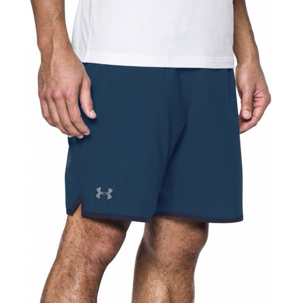 "Under Armour Qualifier 5"" Woven Shorts Navy - Gallery Store NZ 