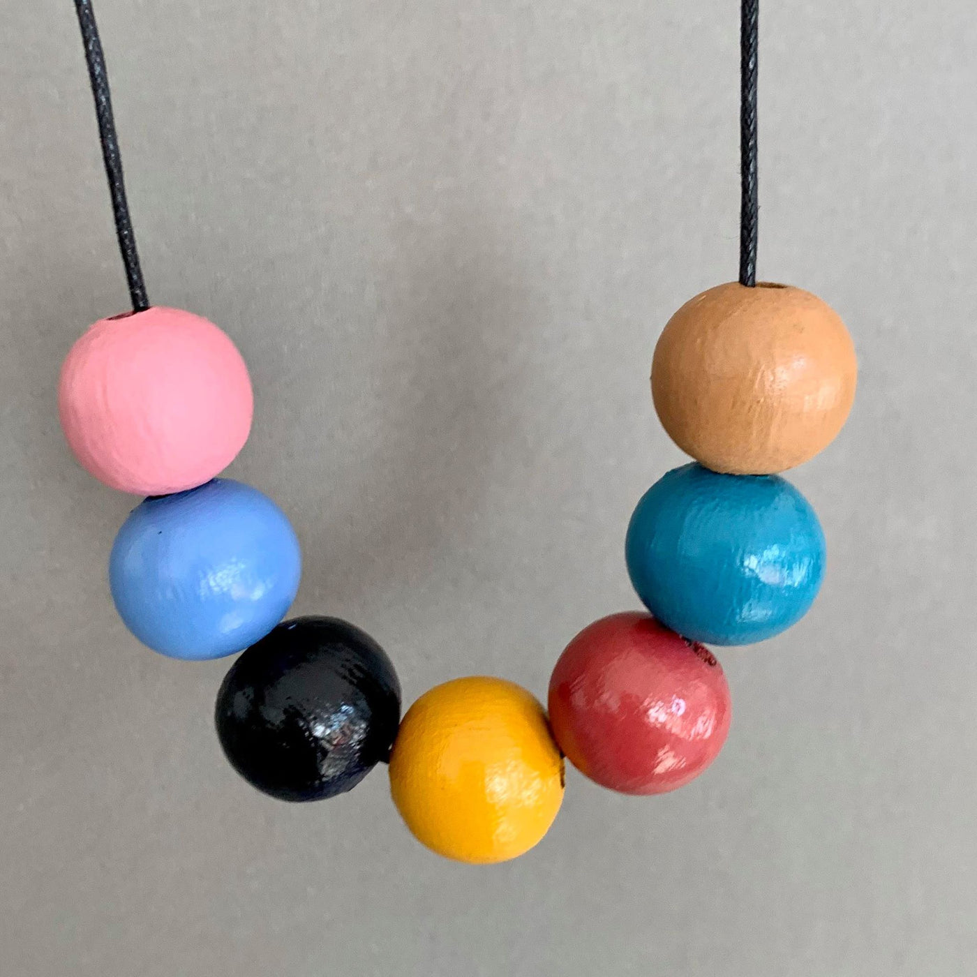 Necklace - Wood Bead