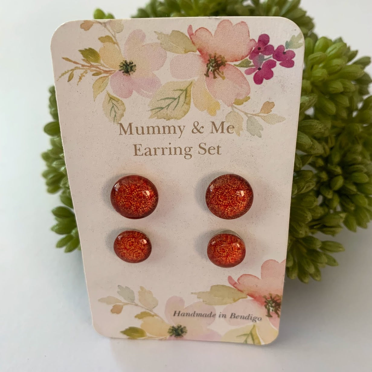 Mummy & Me Earring Set