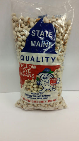 State of Maine Yellow Eye Beans- 2lb(5 pack) Total 10lbs Includes free shipping