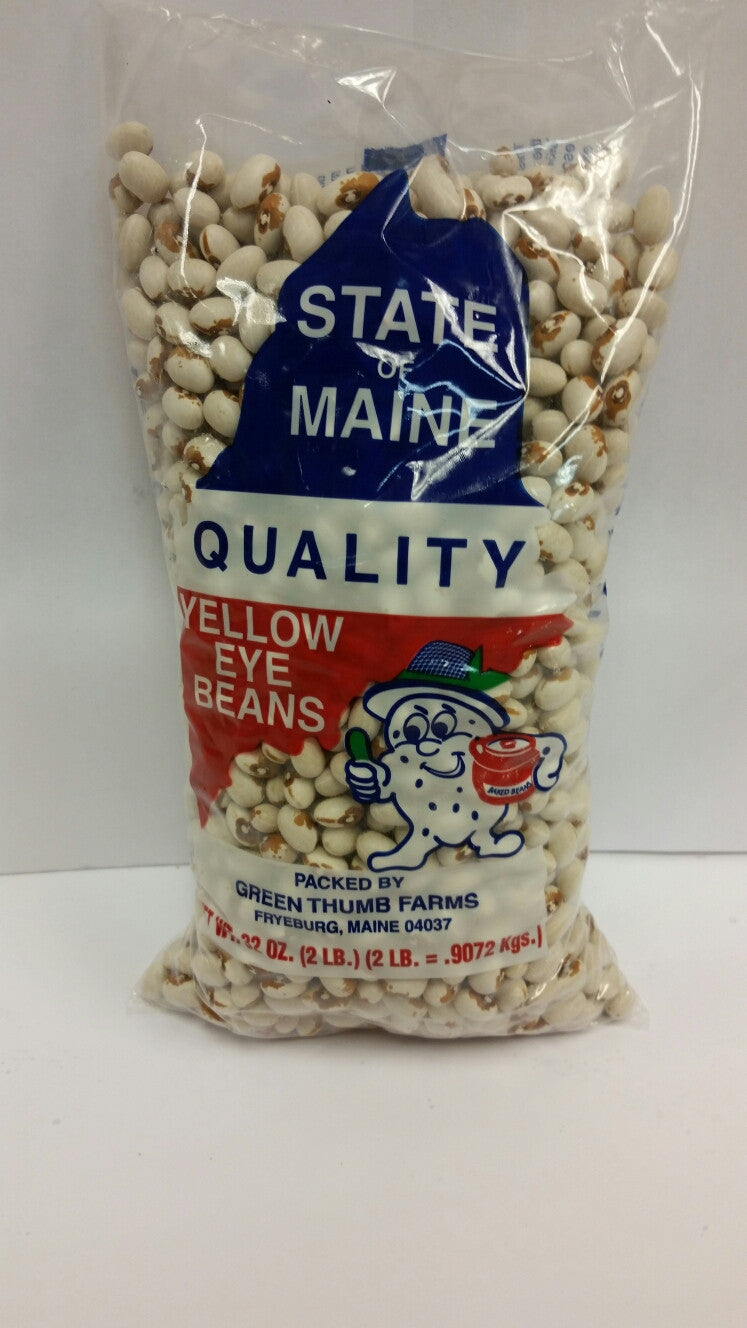 State of Maine Yellow Eye Beans- 2lb(5 pack) Includes free shipping