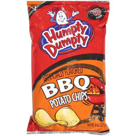 Humpty Dumpty B.B.Q. Chips- 7 oz(6 pack) Free Shippping!