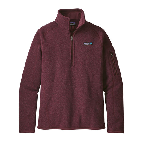 Patagonia Women'sBetter Sweater Quarter Zip with FREE Shipping