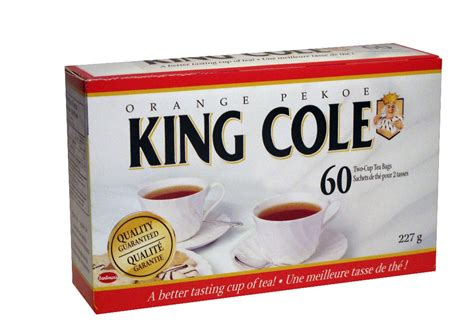 5 Boxes 60 ct King Cole Orange Pekoe Tea With Free Priority Shipping