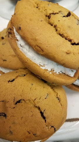 Sleeper's Homemade Pumpkin Chocolate Chip Whoopie Pies with Free Priority Shipping