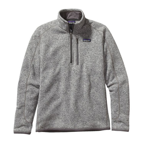 Patagonia Men's Better Sweater Quarter Zip With FREE Priority Shipping!