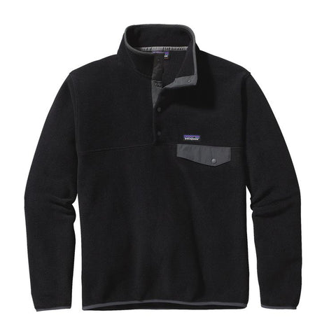 Patagonia Men's Lightweight Synchilla Snap Fleece Pullover With FREE Priority Shipping