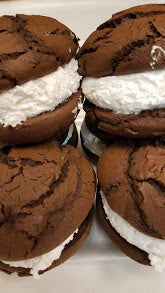 Fresh Baked Maine Large  Whoopie Pies- 6 or 12 Pack Wih Free Priority Shipping!