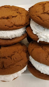 Large Maine Small Batch Molasses Whoopie Pies with Freee Priority Shipping