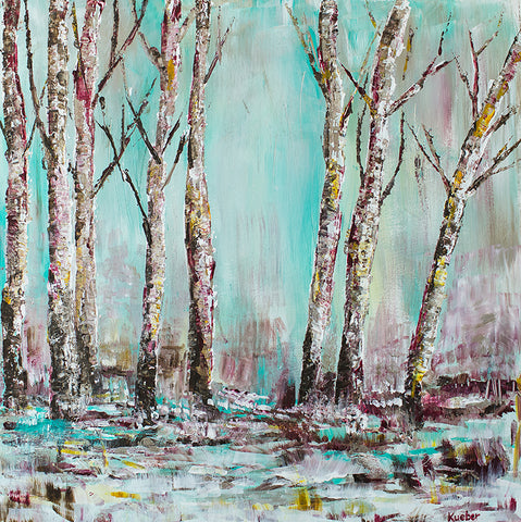 Winter Trees 1 Original Painting