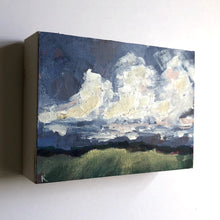 Sky Over Wheat Field - Original | 5 x 7""