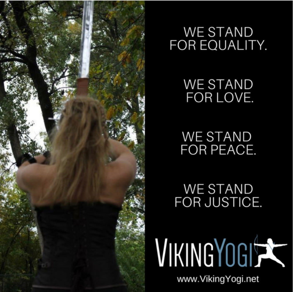 "VY ""We Stand For"" Poster 24"" X 24"""