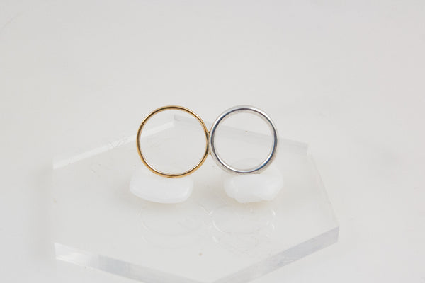 Curve Double Ring