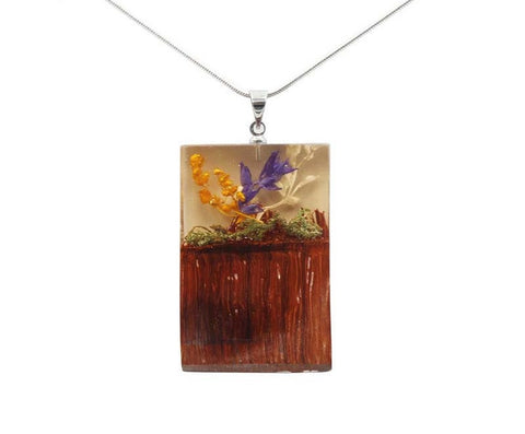 Campanula in Bloom (Necklace)