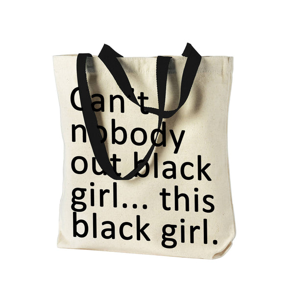 Out Black Tote