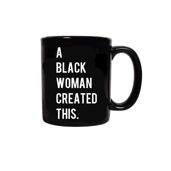 Black Creation Mug