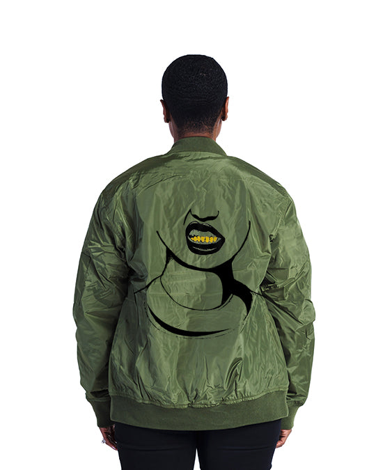 Mean Mug Bomber Jacket