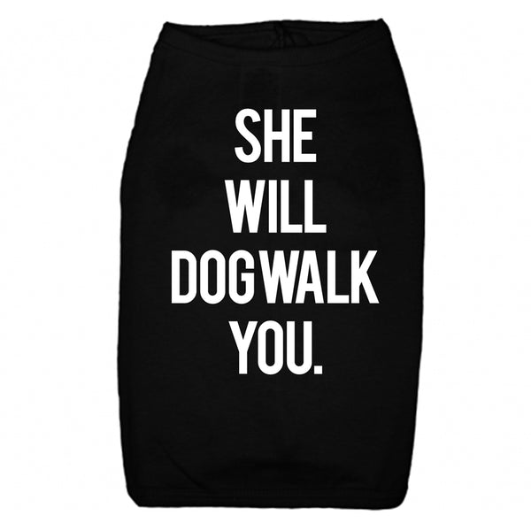Car-tee Dog Walk You Tee