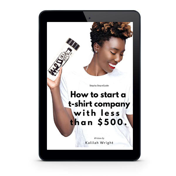 eGuide: How to start a shirt company with $500 or less