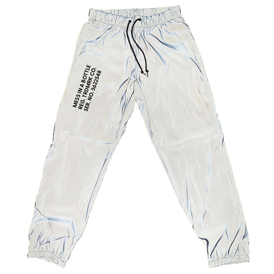 Reflective MESS Trademark Pants