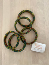 Sustainable Sari Bangle Green