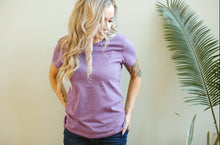 Women's Organic Tee in Orchid