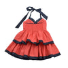 LITTLE BALLERINA DRESS- CORAL RED