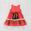 SWEET SUNSET DRESS- CORAL