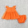 SPRING BASKET INFANT SET- ORANGE