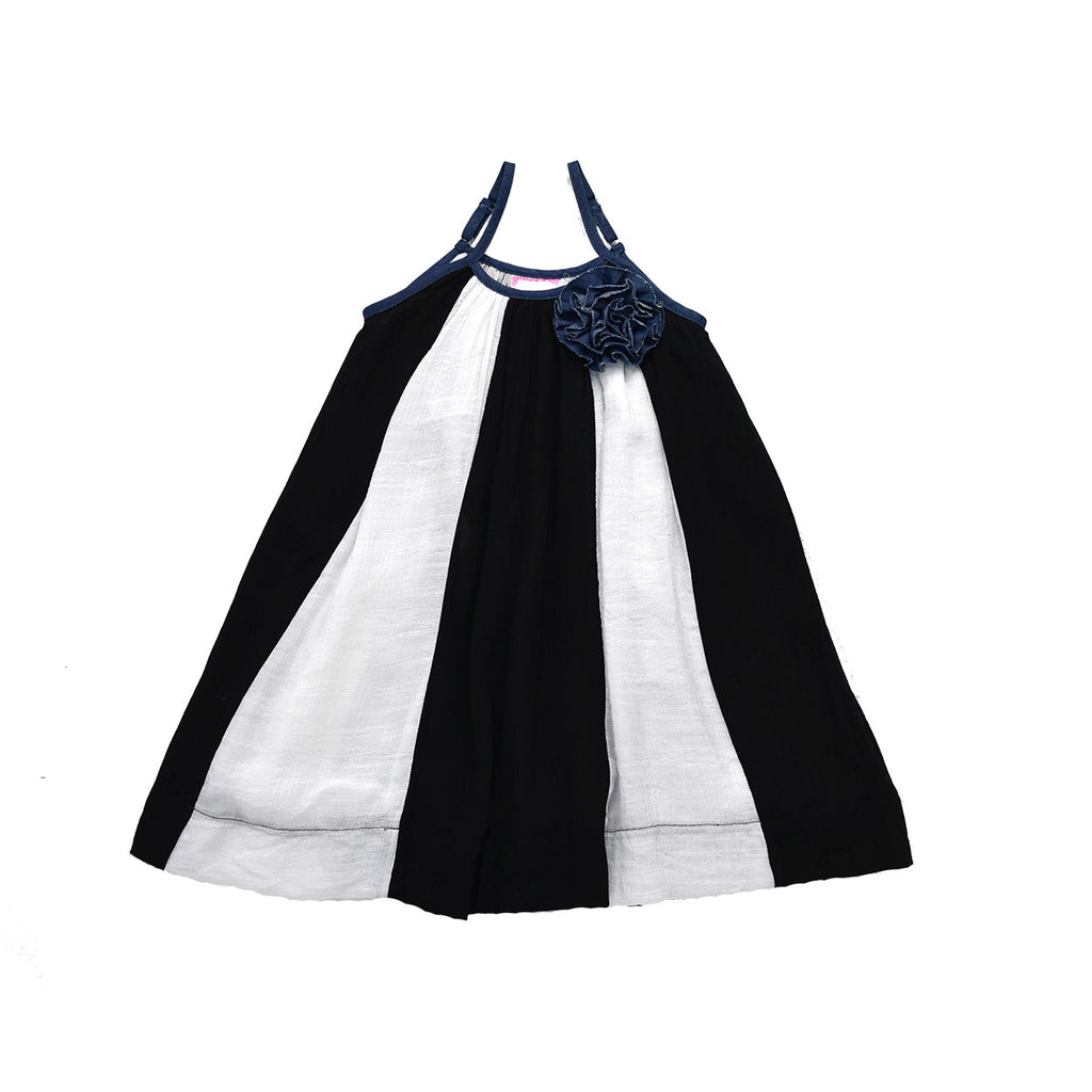 FREELY HAPPY DRESS- MONOCHROME