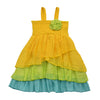 LET'S TWIST AGAIN DRESS- LEMON FRENCH