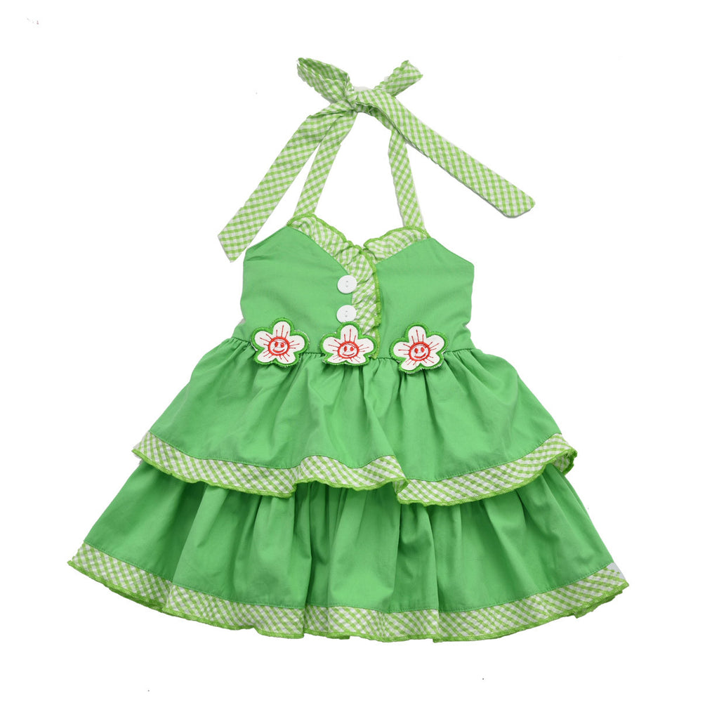 LITTLE BALLERINA DRESS- GREEN