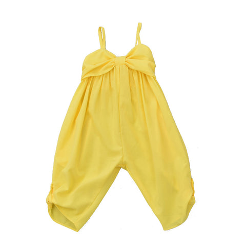 MATILDA JUMPSUIT- YELLOW