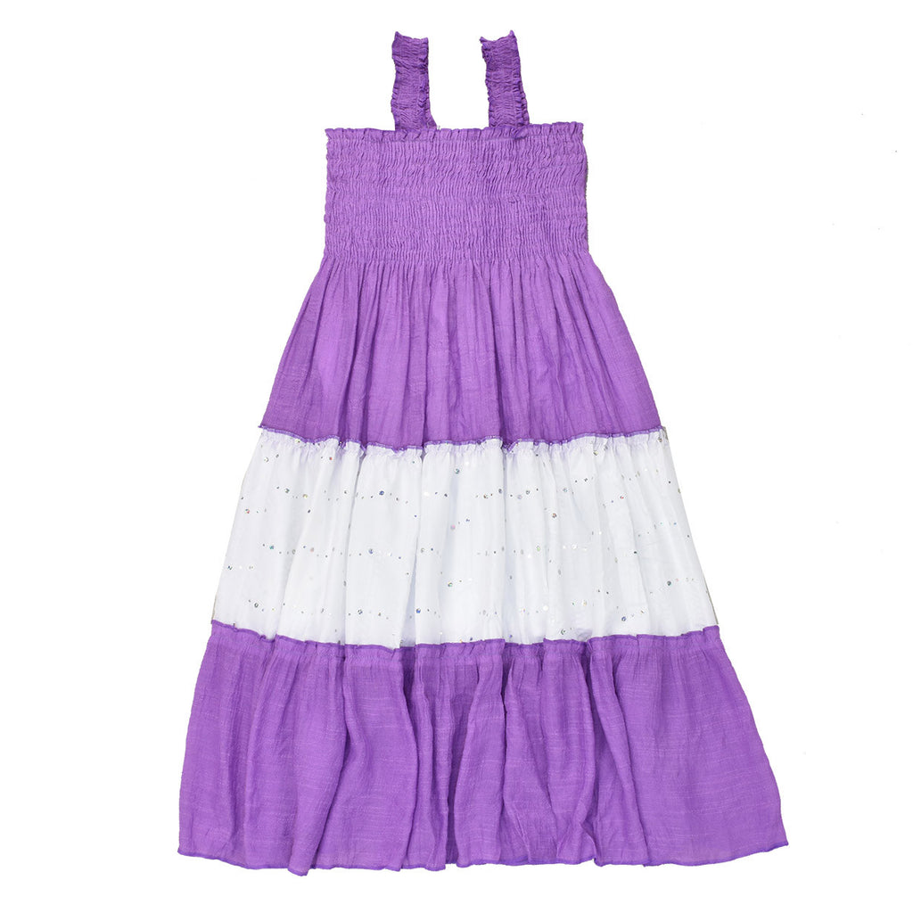 HAWAII SUNRISE MAXI DRESS- LILAC
