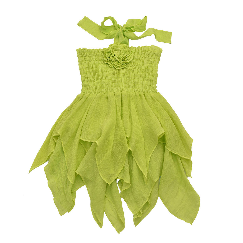 JE T'AIME DRESS- LIME