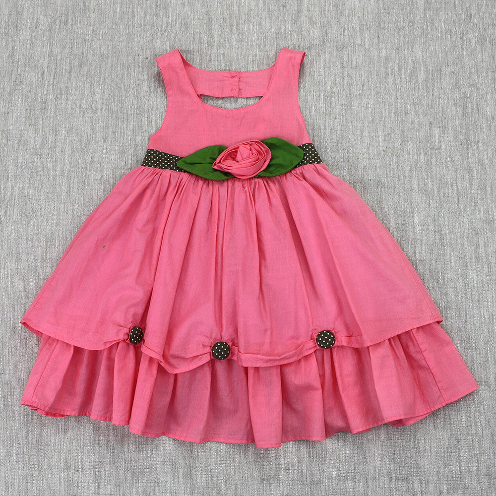 PRINCESS SISSY DRESS- BLUSH PINK