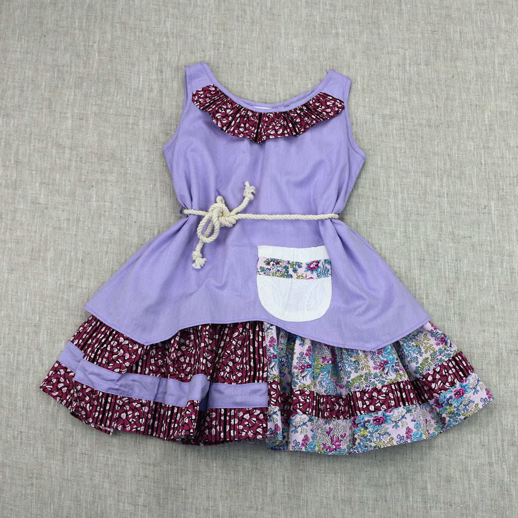 OUT AND ABOUT DRESS- LILAC