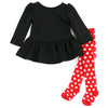 SUGARPLUM HOME SET- BLACK & RED