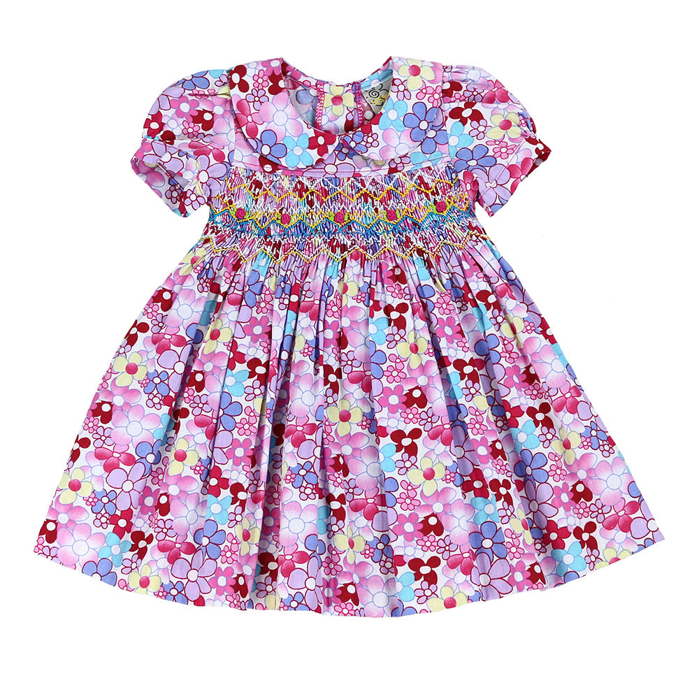 WHIMSICAL MAGNOLIA DRESS